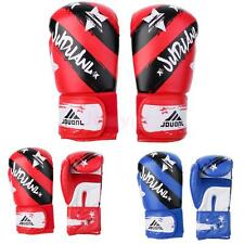 PU leather Boxing Gloves Sparring Fighting Kickboxing Training Punching Bag