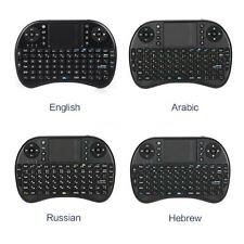 2.4G Mini Wireless QWERTY Keyboard Touchpad for Laptop PC Android Desktop M5Q5