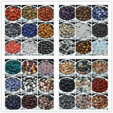 Wholesale Lot Natural Gemstone Round Spacer Loose Beads 4MM 6MM 8MM 10MM Smooth
