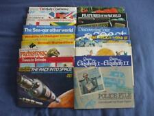 BROOKE BOND CARD ALBUMS:COMPLETE SET OF CARDS IN ALBUM:18 TO CHOOSE FROM MENU