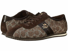 BRAND NEW COACH IVY SIGNATURE WOMEN'S SNEAKERS TENNIS SHOE BROWN SIZE 9.5