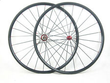 700c 24mm clincher full carbon fiber road bike wheelset,racing wheels for shiman