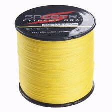 500M Super PE Strong Dyneema Fishing Line Spectra Braided Line 8-100LB Yellow
