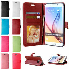 Luxury Leather Magnetic Flip Stand Card Wallet Case Cover For Samsung Galaxy