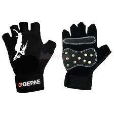 Half Finger Gloves Cycling Gloves Riding Mitts Skating Gloves Sportswear