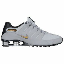NIKE SHOX NZ 2017 GREY GOLD ANTHRACITE MENS RUNNING SHOES ** FREE POST AUSTRALIA