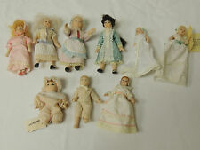 Dolls House Victorian Dressed Figurines (9 pieces) Thames hospice 114R2