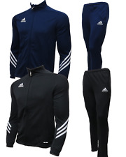 Adidas Sereno 14 Junior Tracksuit Boys Soccer Training Track Top and Bottoms New