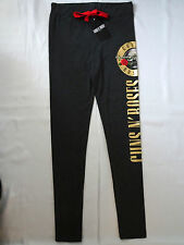 GUNS N ROSES OFFICIAL CHARCOAL GREY LEGGINGS / LADIES PYJAMA BOTTOM BNWT PRIMARK