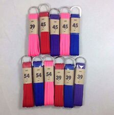 Nike Oval Athletic Shoe Laces 39'' 45'' 54'' All Colors Purple Red Pink Blue