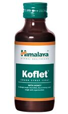 Himalaya Koflet Cough Syrup With Honey Herbal Healthcare Cough Reliever 100 ml
