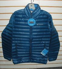 COLUMBIA MENS FLASH FORWARD 650 FILL POWER DOWN JACKET-WM5529-BLUE-S,M,XL,XXL