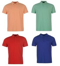 Pierre Cardin Plain Polo Shirt T Shirt Mens