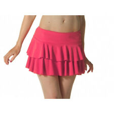 Ladies Girls Neon RARA Mini Short Skirt Dance Club Women Fancy Fit Pink Colour