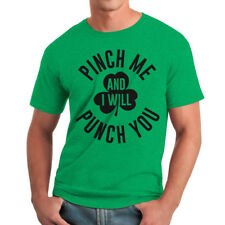 Humor Pinch Me Men's Heather Irish Green Funny T-shirt NEW Sizes S-2XL