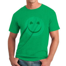 Humor Happy Irish Men's Heather Irish Green Funny T-shirt NEW Sizes S-2XL