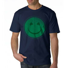 Humor Happy Irish Men's Navy Funny T-shirt NEW Sizes S-2XL