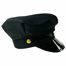 Black Chauffeur Limo Driver Costume Hat