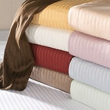 JB Linen 400-TC 1PC Duvet/Quilt Cover Striped Zipper Closure 100%Egyptian Cotton