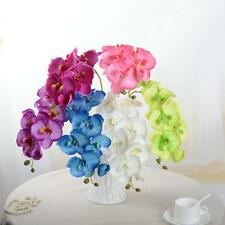 1Pcs Home Decor Phalaenopsis Artificial Orchid Real Touch Silk Home Office Decor
