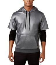 GUESS Mens Logan Thermal Hoodie Sweatshirt