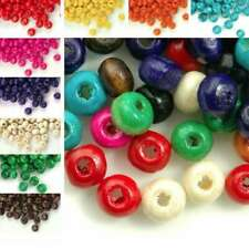 30g(800pcs Approx) Wooden Round Spacer Wood Beads Charms 3x4mm FBWBSET01