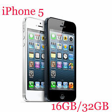Apple iPhone 5 16GB 32GB White Black Smartphone Mobile Phone Unlocked  iOS 4""