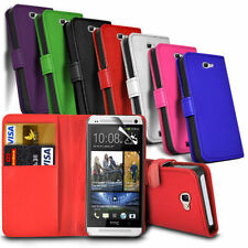 HTC Desire 630 - Leather Wallet Card Slot Case Cover