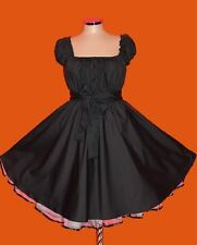 1950s ROCKABILLY SWING DRESS Plus Size 18 20 22 24 26 28 eMo Pin Up Vintage 50s