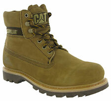 Caterpillar Colorado Boots Leather Mud Ankle Wide Lace CAT Mens Work Boots