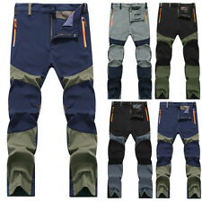 Mens Stylish Outdoor Hiking Climbing Combat Trousers Cargo Pants Plus Size L-4XL