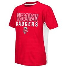 University of Wisconsin Badgers Youth Tee Performance Poly Logo T-Shirt