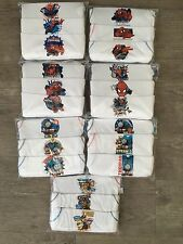 BOYS Kids Pack of 3 Character Cotton Vests Top Underwear 1 - 8 Years