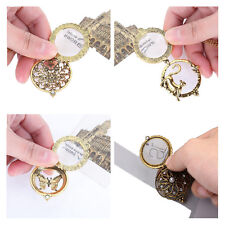 1Pcs 5 Times magnified Magnifying Glass Vintage Necklace 7 Styles Pendant
