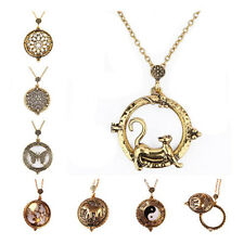 Necklace Vintage 5 Times magnified 1Pcs Magnifying Glass Pendant 7 Styles