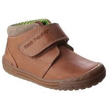 Hush Puppies Childrens Boys Archie Touch Fasten Ankle Boot