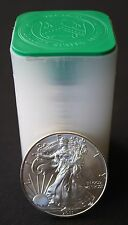 Roll of 2011 Silver American Eagle Coins Uncirculated- 20 Coins