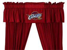 Cleveland Cavaliers Window Treatments Valance and Drapes