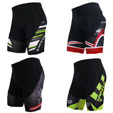 Men Cycling Shorts 3D Gel Padded Bicycle Tights  Lycra Bike Cycle Half Pants