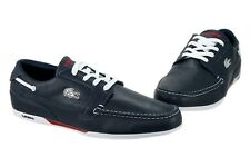Lacoste Dreyfus SPM LTH 7-20SPM8121121 Dark Blue Leather Shoes Medium (D, M) Men