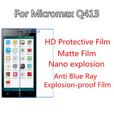 3pcs For Micromax Q413 HD Protective Ultrathin,Anti Scracth Matte Screen Film