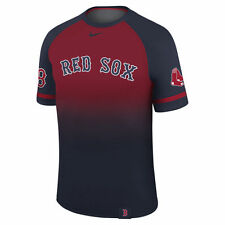 Rare Nike Dri-FIT 2017 MLB Authentic Collection Team Logo Legend Raglan T-Shirt