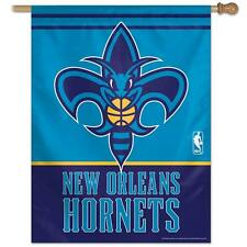 New Orleans Hornets Vertical Outdoor House Flag