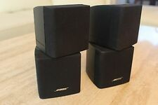 Bose Acoustimass Lifestyle Double Cube Speaker, Pair, Black, Direct/Reflecting