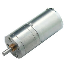 6V/12V/24V Miniature DC Gear-Box Reducer Electric Motor 130/280/620/1360RPM
