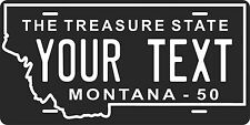 Montana 1950 License Plate Personalized Custom Auto Bike Motorcycle Moped tag