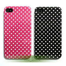 Polka Dots Pattern Design Hard Case Cover Skin for Apple iPhone 4 4G 4th 4S