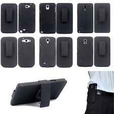 Hybrid Belt Clip Shell Holster Hard Stand Case Cover for S4 5 6 7 Note 8 3 4 5 2