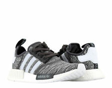 Adidas NMD_R1 Utility Black/White/Grey Women's Running Shoes BY3035