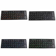 Frosted PVC Russian Keyboard Protection Stickers For Desktop Notebook